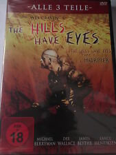 The Hills have Eyes 1 2 3 - Mindripper, Todestal Wölfe, Wes Craven, M. Berryman