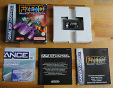 Jeu F-ZERO MAXIMUM VELOCITY Complet sur Nintendo Game Boy Advance GBA