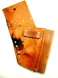 Atchison Leather Drill Holster Model A875 Vintage