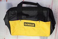 "New Dewalt Heavy Duty Yellow and Black Ballistic Nylon Tool Bag 13"""