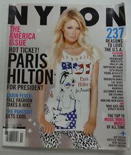 Nylon Magazine Paris Hilton & Big Hair And Friendship November 2008 051915R2