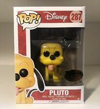 Disney Treasures Exclusive Pluto Funko Pop Vinyl #287 With Pop Protector