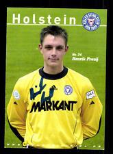 Henrik Preuß Autogrammkarte Holstein Kiel 2004-05 Original Signiert+A 154844