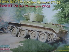 Eastern Express 1/35  Russian  Tank BT-7A w/76 mm gun KT-28 Tank 35114