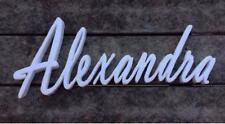 Sweet 16 candelabra / styrofoam name