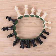 32Pcs/Set White & Black Edition Chess Set & Plastic Games Pieces N7