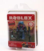 Roblox Series 2 Action Figure - Blue LAZER Parkour Runner w/ Virtual Item NEW
