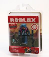 Roblox Series 2 Action Figure - Blue LAZER Parkour Runner w/ Virtual Item NEW