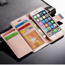 Luxury PU Leather Magnetic Flip Card Wallet Phone Case Cover For Various Phone