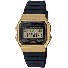 Classic F91 Casio Digital Watch Black & Gold