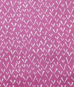100% Cotton Fabric Freedom Abstract Funky Pink Fabric - Remnant 29 x 112cm