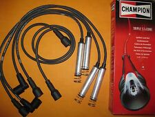 VAUXHALL OPEL FRONTERA 2.0i (91-) NEW TRIPLE SILICONE PERFORMANCE IGNITION LEADS