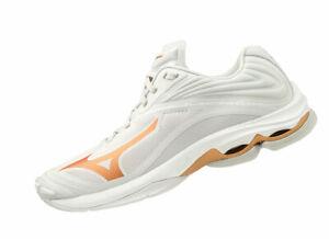 Mizuno WAVE LIGHTNING Z6 Volleyball V1GC2000 Weiss 52 Damen Schuhe B-Ware Gr 38