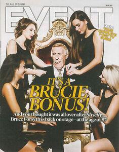 Event Mag: Bruce Forsyth On Not Retiring, Patsy Kensit Reggie Kray Used To Write
