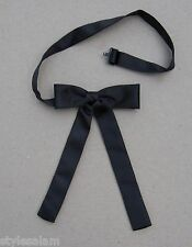 Colonel tie western bow tie neckband black square dance cowboy Kentucky NEW
