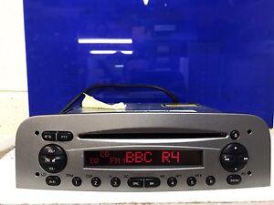 Alfa Romeo 147 Blaupunkt 937 HIGH CD Stereo Radio Silver CD Player With Code