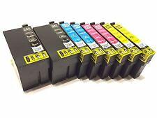 8PK Reman 252 XL H Yield Ink For Workforce WF3620 WF3640 WF7620 WF7110 WF7610