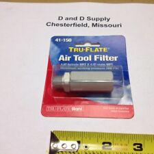 "Tru-Flate 41-150, In-Line Tool Filter, 200 PSI, 1/4"" NPT, Add'l Units Ship Free"