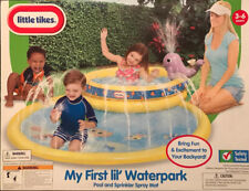 Lil Tykes My First Lil Waterpark Pool And Sprinkler [NEW]