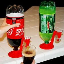 1x Novelty Fizz Saver Soda Dispenser Plastic Drink Gadget Of 2-liter bottle Red*