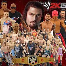 WWE NXT WWF 6'' Elite Action Figure Wrestling Superstar + Championship Belt Toy