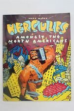 Hercules Amongst The North Americans Mark Marek 1986 1st Ed PB Graphic Novel