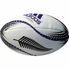 Official NZRU Adidas New Zealand Allblacks Mini Rugby Ball (Supplied Deflated)