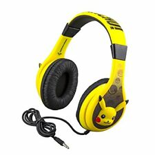 Pokemon Pikachu Headphones for Kids with Built in Volume Limiting Feature