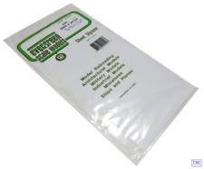 EG4544 Evergreen Plastics 12 x 6 Board & Batten sheet 3.2mm spacing