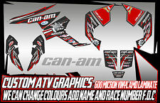 CAN AM RENEGADE 800/1000 ALL YEARS GRAPHICS DECALS ATV QUAD