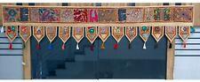 Embroidered Toran Door Hanging Patchwork Window Valances Decorative Wall Hanging