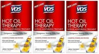 Alberto VO5 Moisturizing Hot Oil Treatment, 0.5 Ounce, 2-Count Tubes (3 Pack)