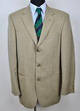 HUGO BOSS Textured Sand Beige Blazer UK 40L Coat Long Jacket Gr.50L Sakko 98