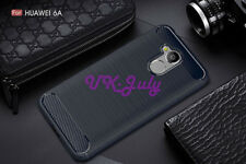 For Huawei Honor 6A Case Shockproof Armor Hybrid Carbon Fiber Phone Cover TPU