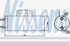 Nissens 95316 Récepteur sèche-PEUGEOT 206 98 -