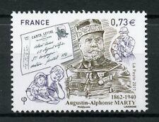 France 2017 MNH Augustin-Alphonse Marty Inspector General PPT 1v Set Stamps