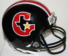 USFL Houston Gamblers Custom Riddell Mini Helmet