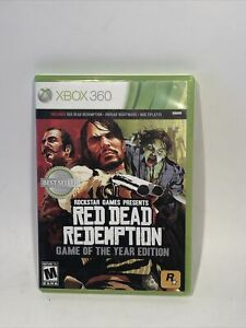 Red Dead Redemption: Game of the Year Edition (Xbox 360/XBOX one)