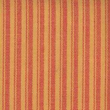 1.75 Yards Woven Homespun Cotton Ticking Stripe MANGO Drapery Sewing Fabric