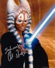 ORLI SHOSHAN signed Autogramm 20x25cm STAR WARS In Person autograph SHAAK TI