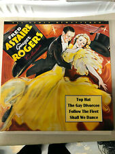 THE FRED ASTAIRE AND GINGER ROGERS COLLECTION 4-Laserdisc Box FREE SHIPPING
