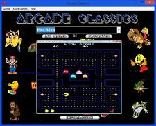 Arcade Classics for Windows XP, Vista, 7, 8, 10 ... 1500 + Games on DVD 2015
