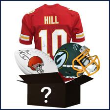 New listing MINNESOTA VIKINGS RSA  Break  Signed Mini Helmet Jersey & Football BREAK # 11