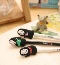 Cartoon 8x Spirited Away Cute No Face Faceless Black Gel Ink Ballpoint Pen Gift