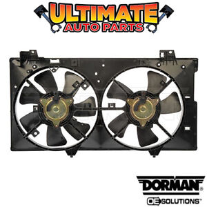 Radiator Cooling Fan (Dual Fan) (2.3L 4 Cylinder - Non-Turbo) for 03-08 Mazda 6