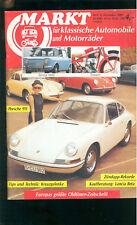 Markt Klassische Autos 1989 Kaufberatung Lancia Beta Porsche 911 Zündapp Rekorde
