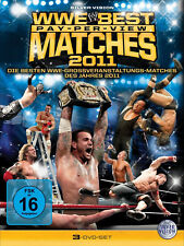 WWE The Best PPV Pay Per View Matches 2011 3x DVD DEUTSCHE VERKAUFSVERSION