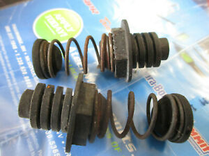 1994-1998 Ford Mustang GT Trunk Lid Springs w/ Rubber Bumpers Hardware - Pair