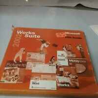 Microsoft Works Suite 2002 Collectable