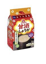 FAST AIRMAIL!! Morinaga freeze dried amazake ginger 100ml 4 pieces Amasake Japan
